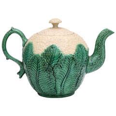 Fine Whieldon School Pottery Cauliflower Teapot