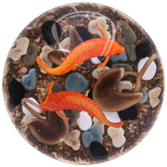 Gordon Smith Koi Paperweight, 1996