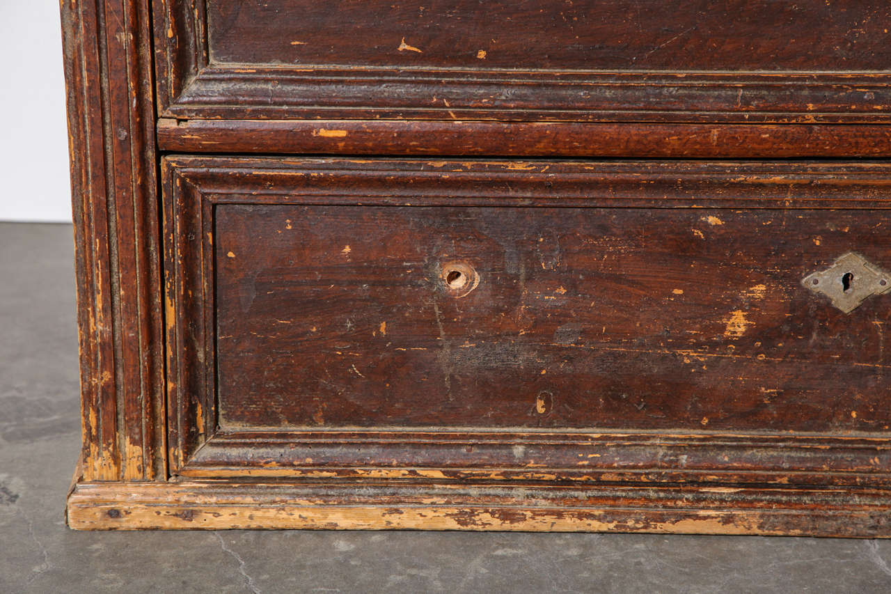 Rustic 19th Century Belgian Chest of Drawers For Sale