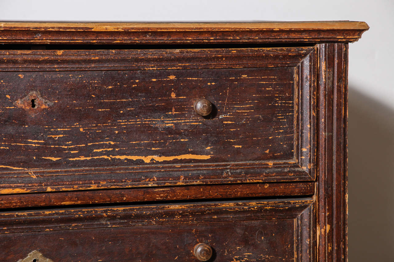Wood 19th Century Belgian Chest of Drawers For Sale