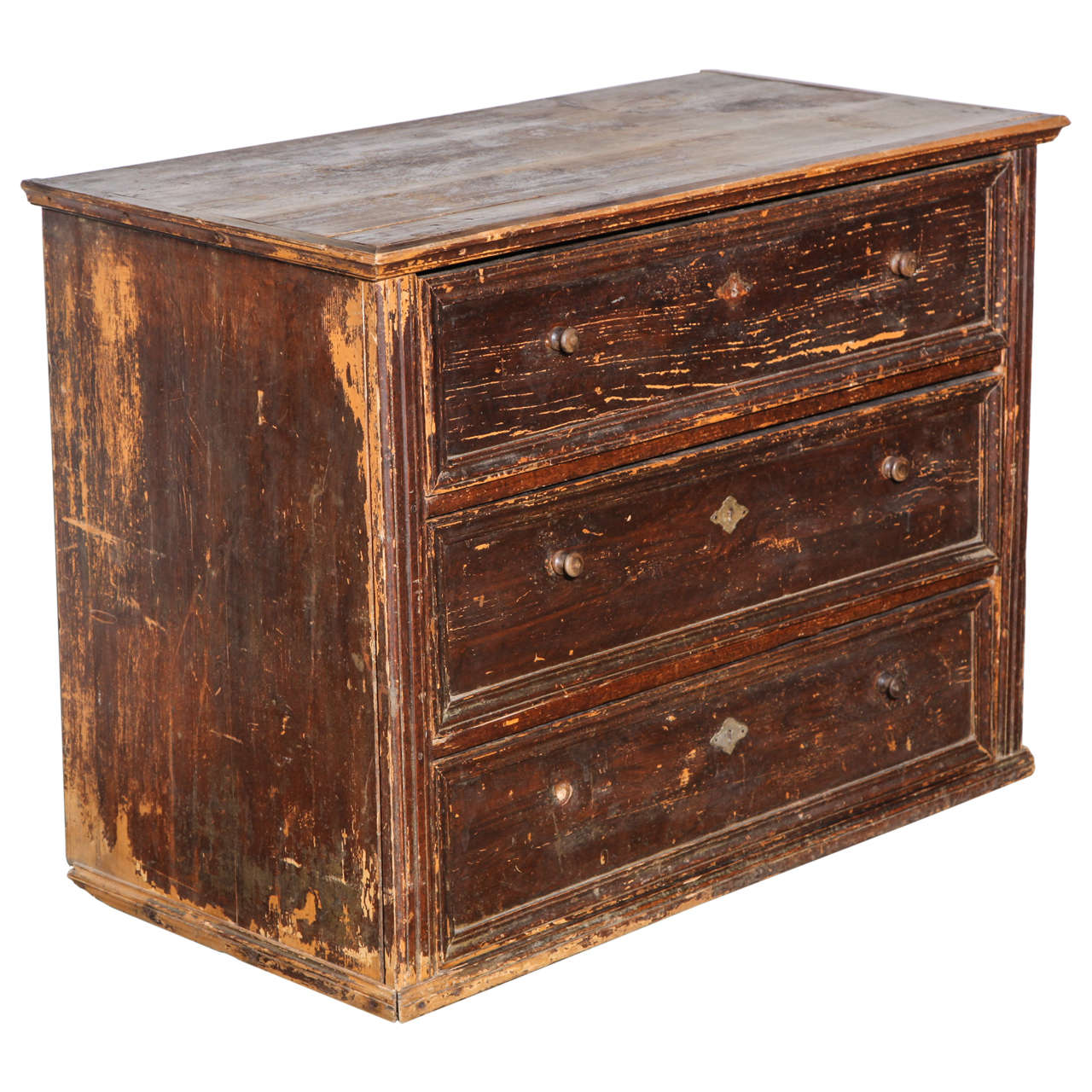 19th Century Belgian Chest of Drawers For Sale
