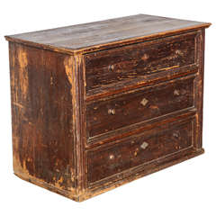 19th Century Belgian Chest of Drawers