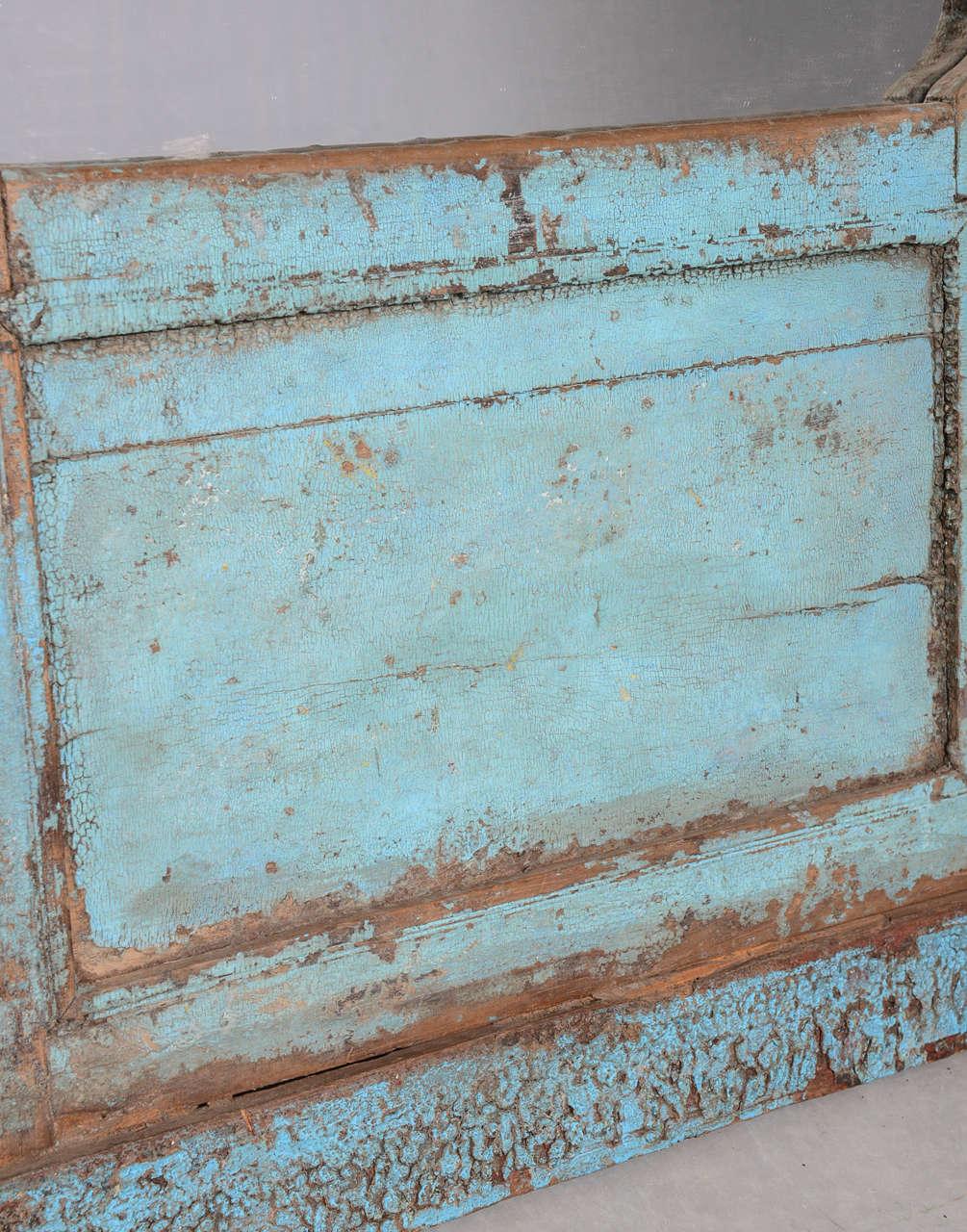 SALE! SALE! SALE!Antique Door Turquoise, full length Java Enchanting,dramatic For Sale 1