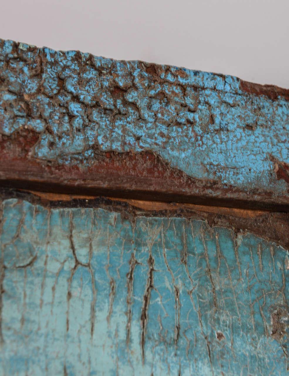 SALE! SALE! SALE!Antique Door Turquoise, full length Java Enchanting,dramatic For Sale 2