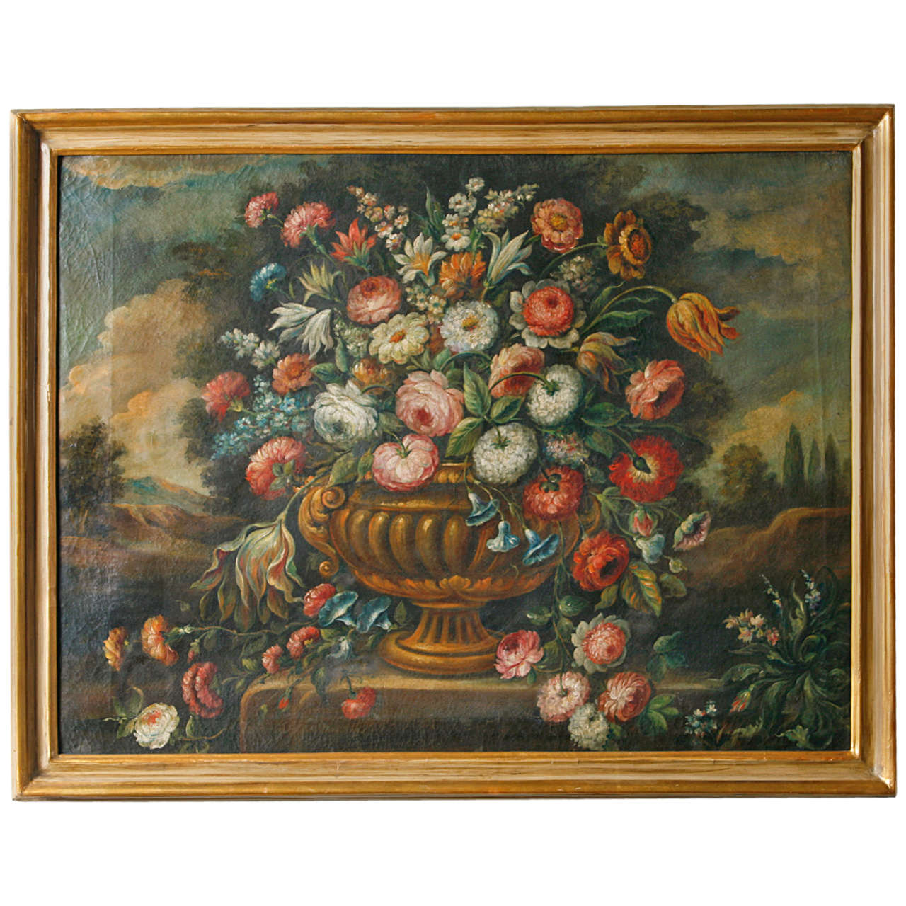 18th Century Continental Still Life Painting For Sale