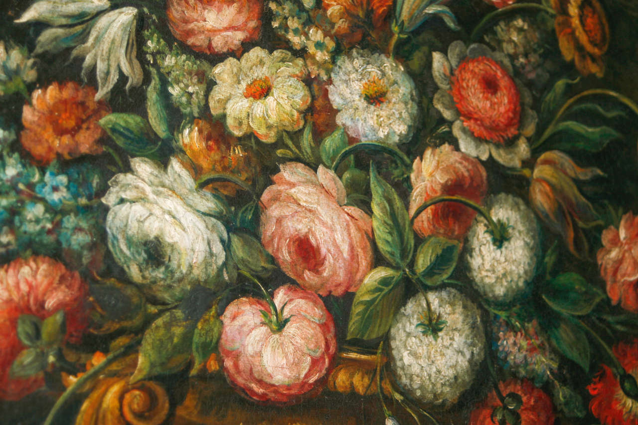 18th Century and Earlier 18th Century Continental Still Life Painting For Sale
