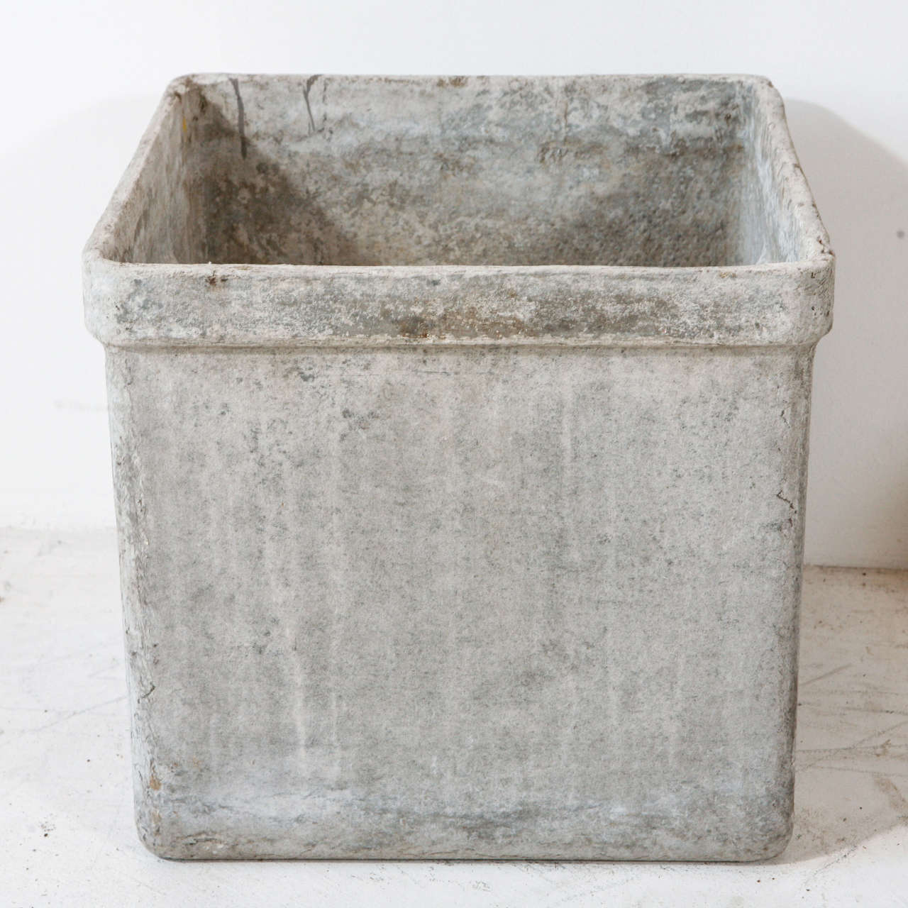 Modern Concrete And Resin Planter At 1stdibs