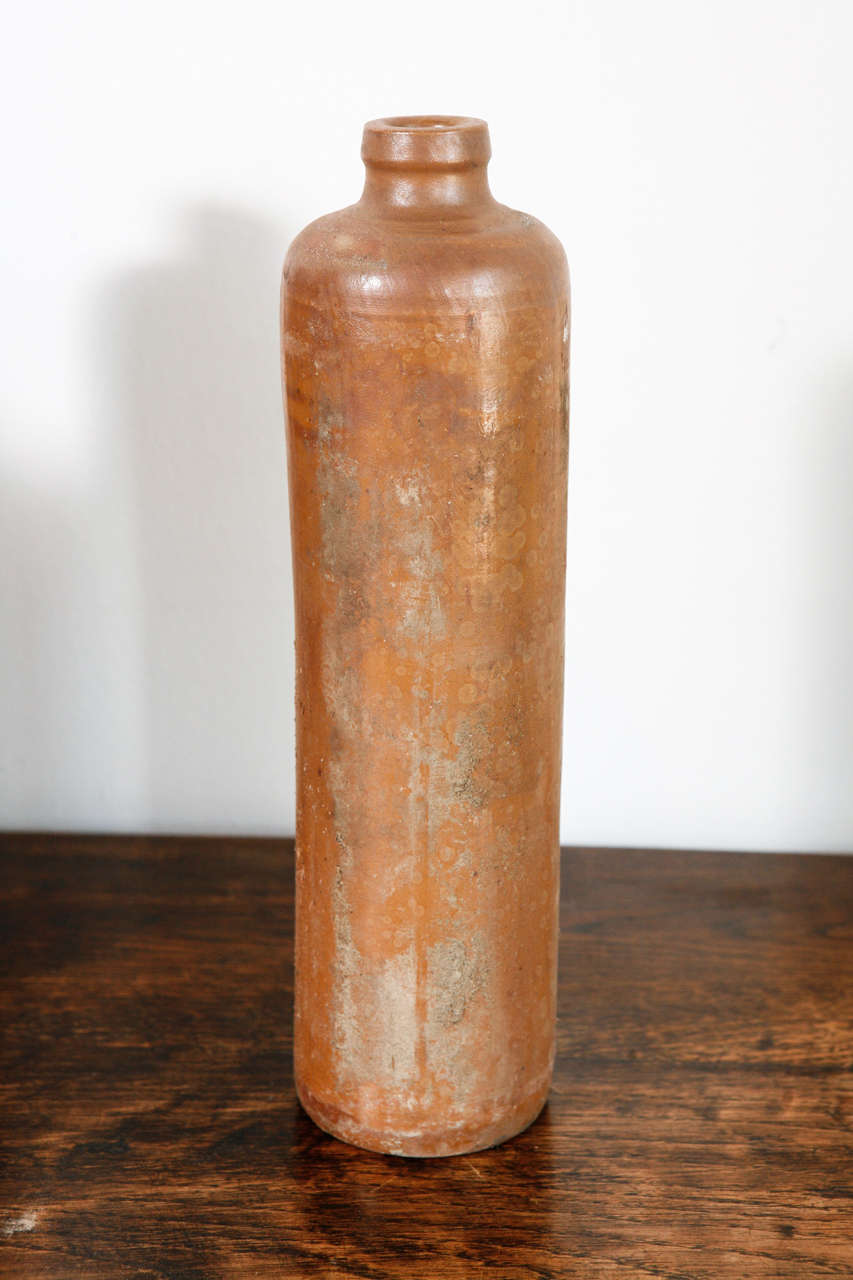 Vintage Terracotta Ceramic Bottles Vases At 1stdibs