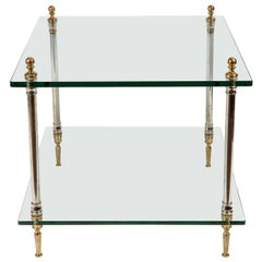 Glamorous Pair of Side Tables