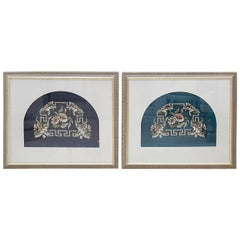 Framed Victorian Beadwork
