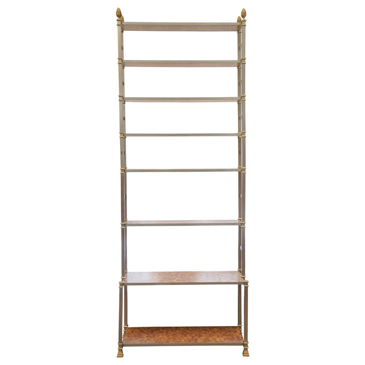 Very tall maison jansen tag re 1971 saturday sale at 1stdibs - Etagere faite maison ...