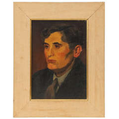 1930s Oil on Canvas by Raphael Soyer