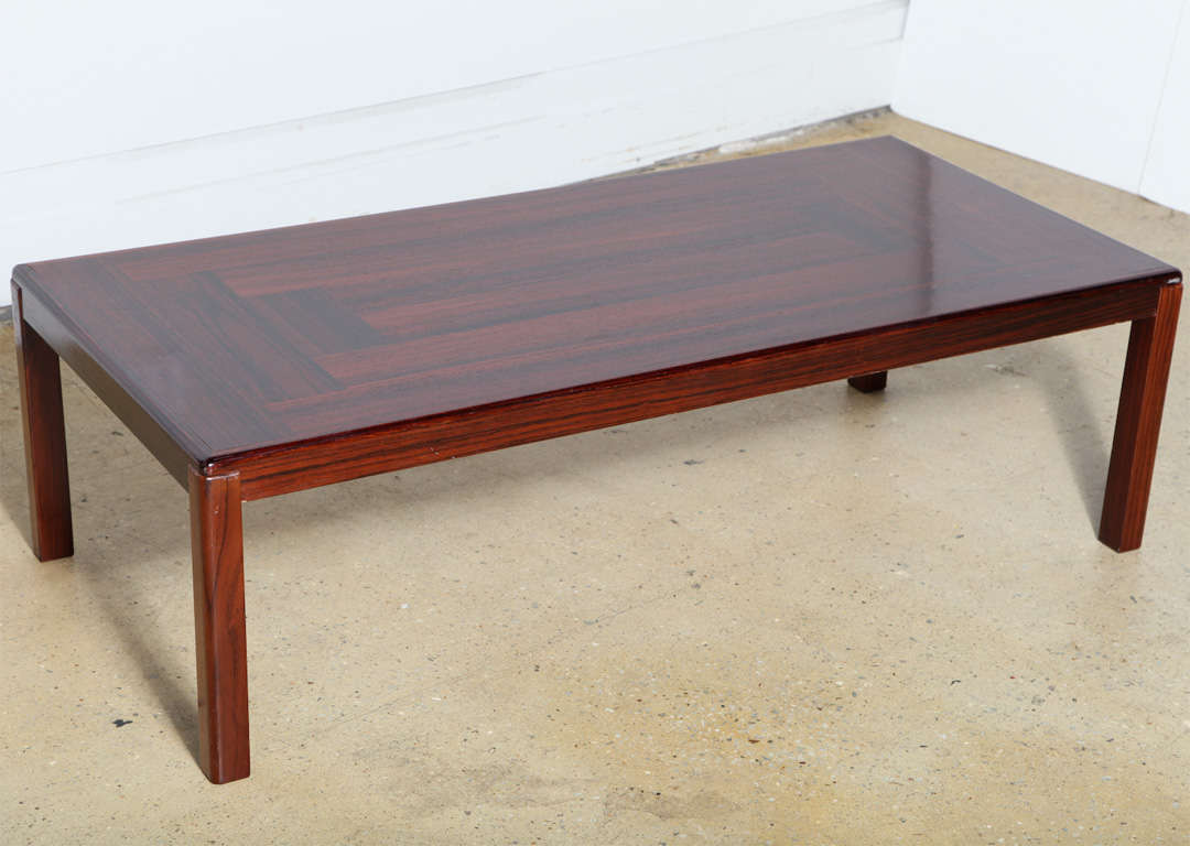 Vejle Stole V S Rosewood Coffee Table At 1stdibs