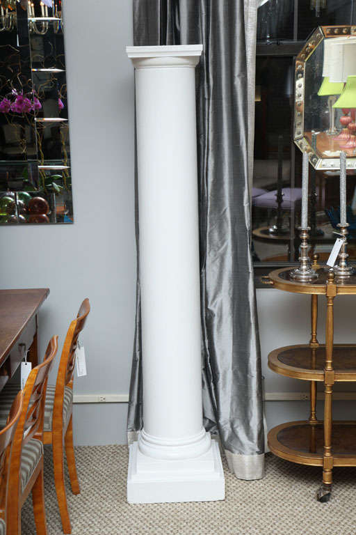 Neoclassical Pair of Architectural Columns For Sale