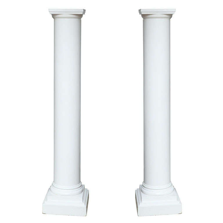Pair of Architectural Columns For Sale
