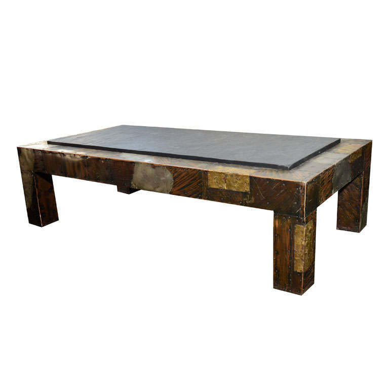 Slate top coffee tables