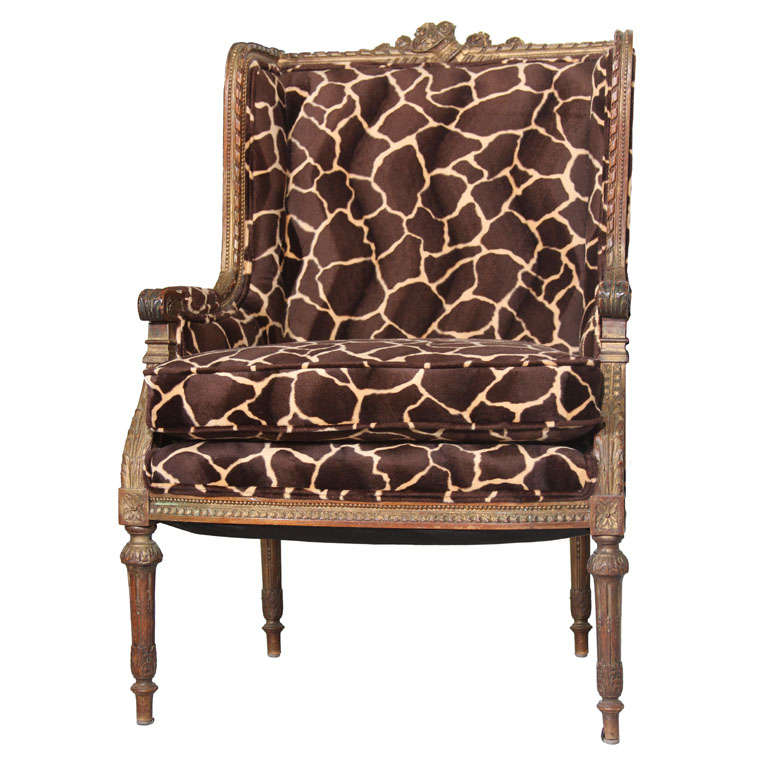 amazing giraffe chair at 1stdibs