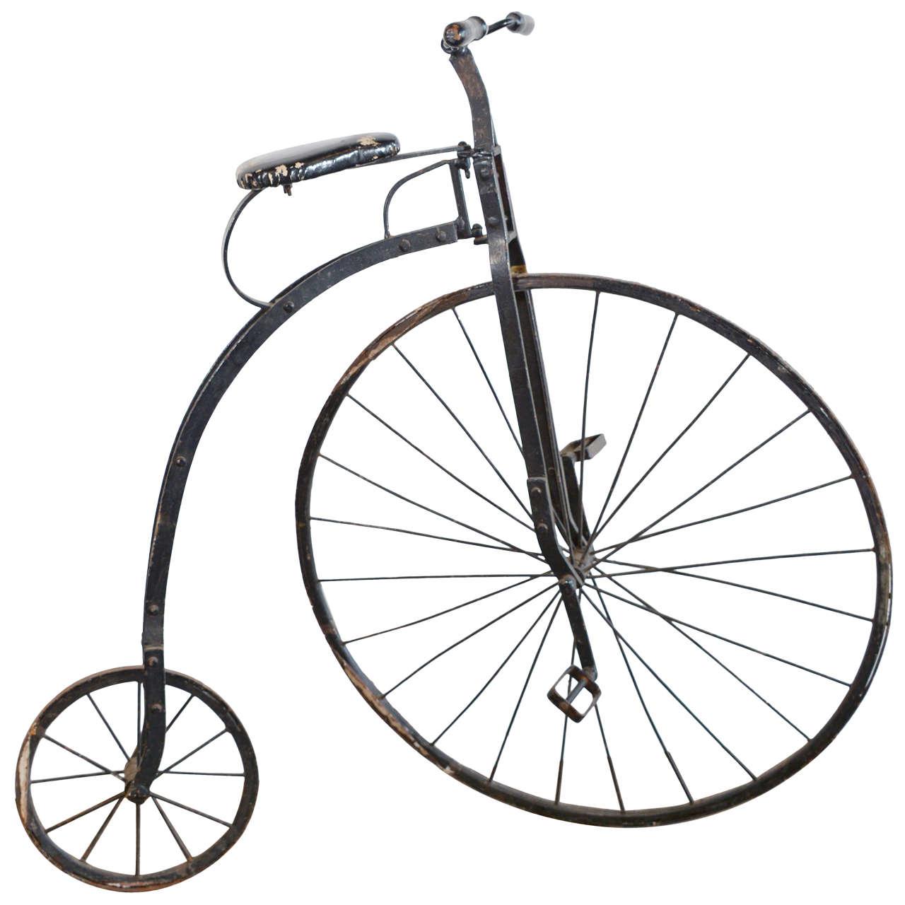 Antique English High Wheel Bicycle at 1stdibs