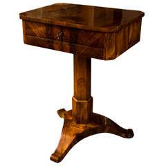Fine Early Biedermeier Work Table