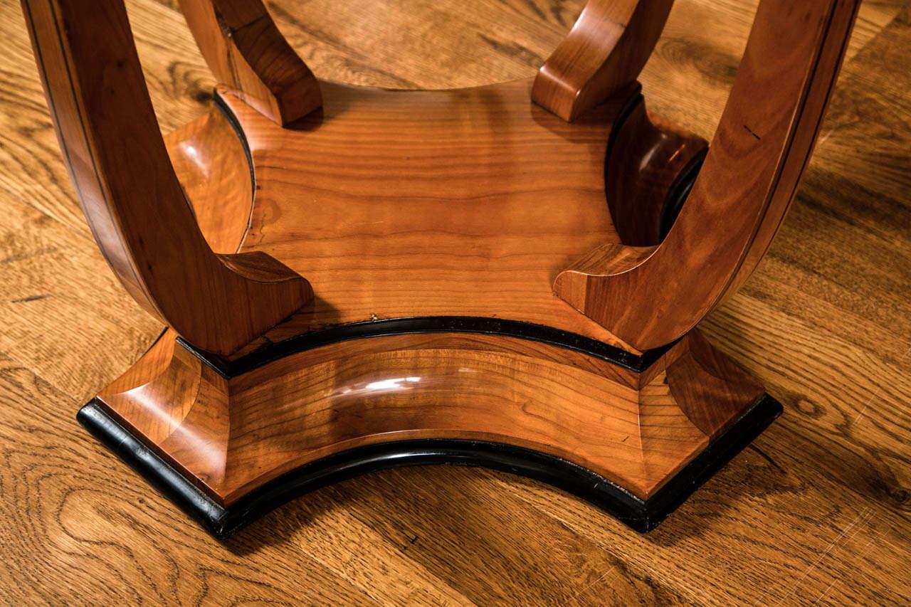Austrian Graceful Art Deco Table For Sale