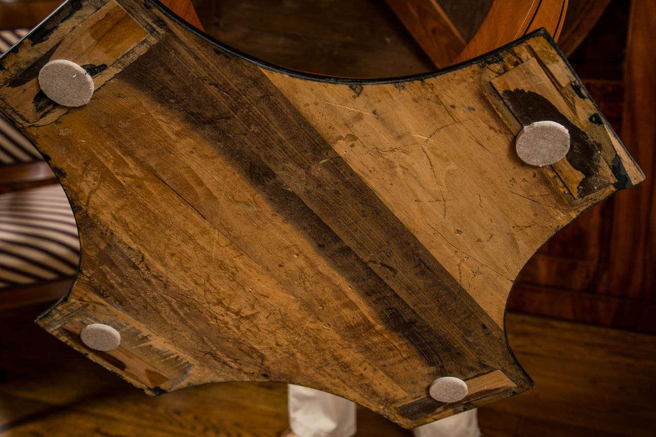 Graceful Art Deco Table For Sale 2