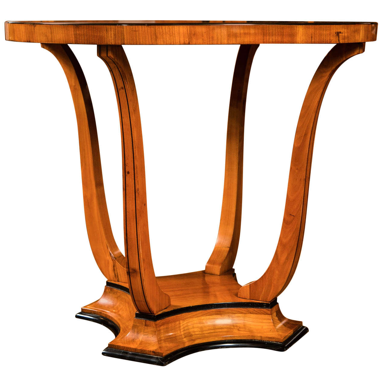 Graceful Art Deco Table For Sale
