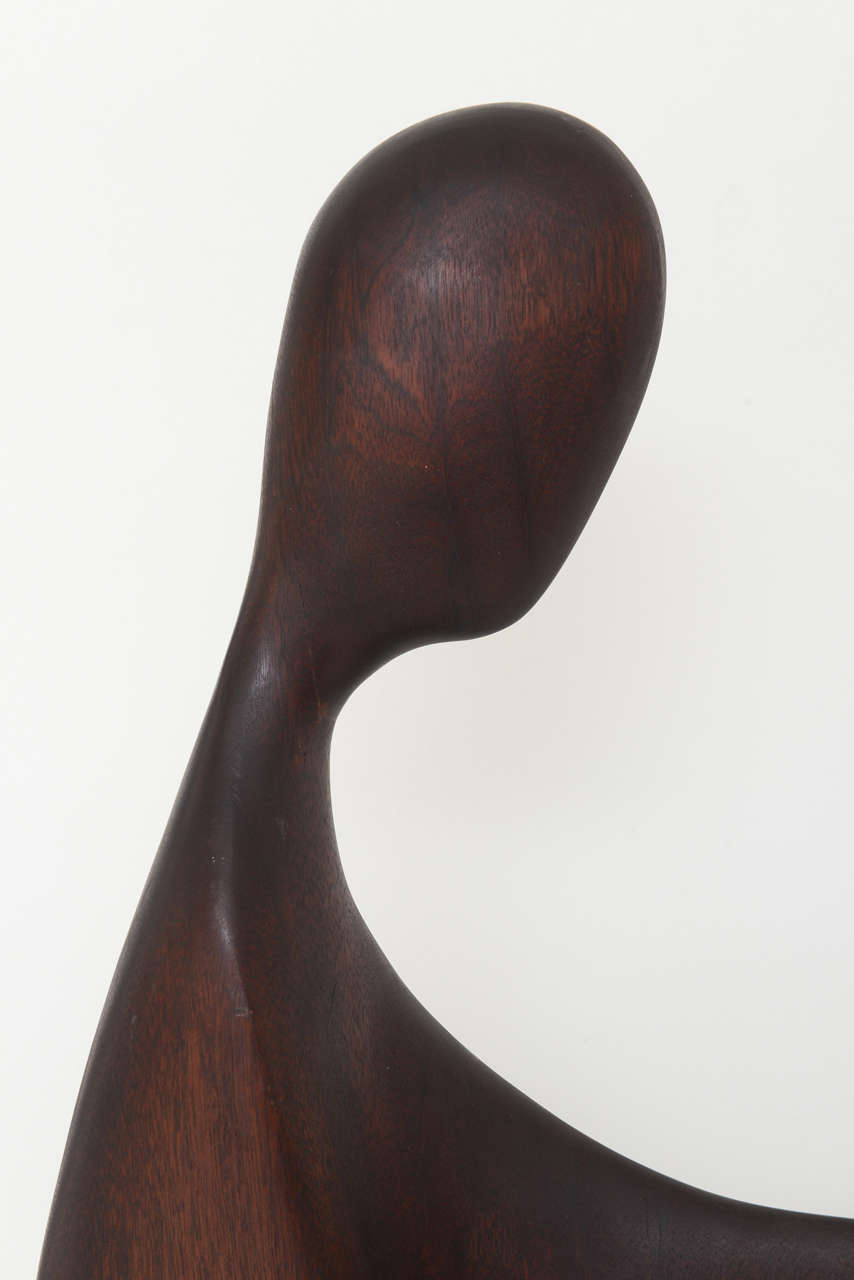 Mid-20th Century Mid Century Modern Sculpture by Gert Olsen Danish/American Artist For Sale
