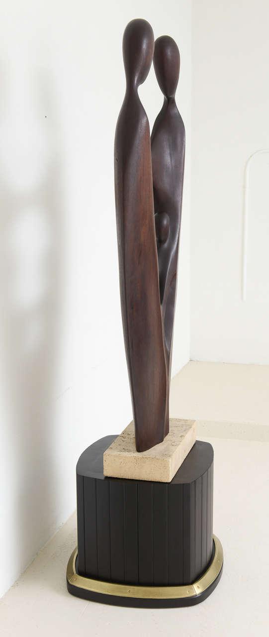 Mid Century Modern Sculpture by Gert Olsen Danish/American Artist For Sale 1