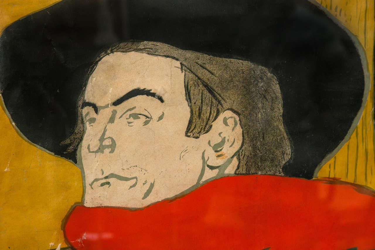 Henri De Toulouse Lautrec Poster Of Aristide Bruant At 1stdibs