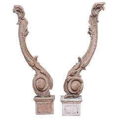 Pair of 18th Century Architectural Fragments