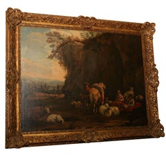 A late 18th Century Italian Painting