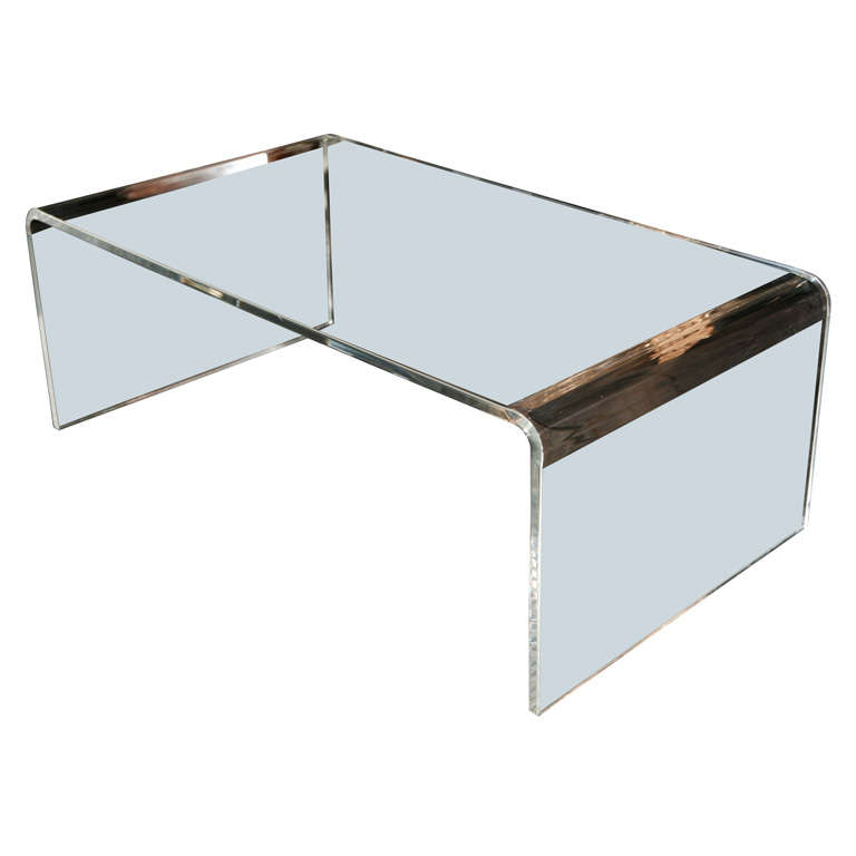 Lucite Waterfall Coffee Table X Mg 5882 Jpg Lucite Waterfall Coffee Table At 1stdibs X Jpg