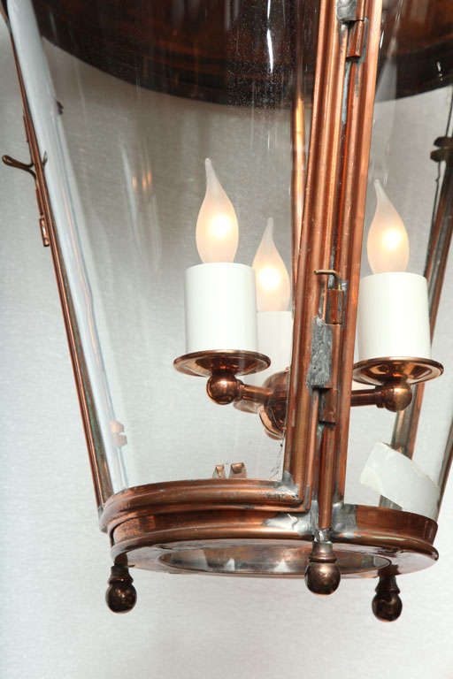 Pair of Conically Shaped Lanterns 5