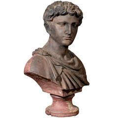 Early 19th Century Roman Bust, Circa 1820