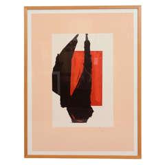 Robert Motherwell Chicago Art Print Engberg and Banach 282