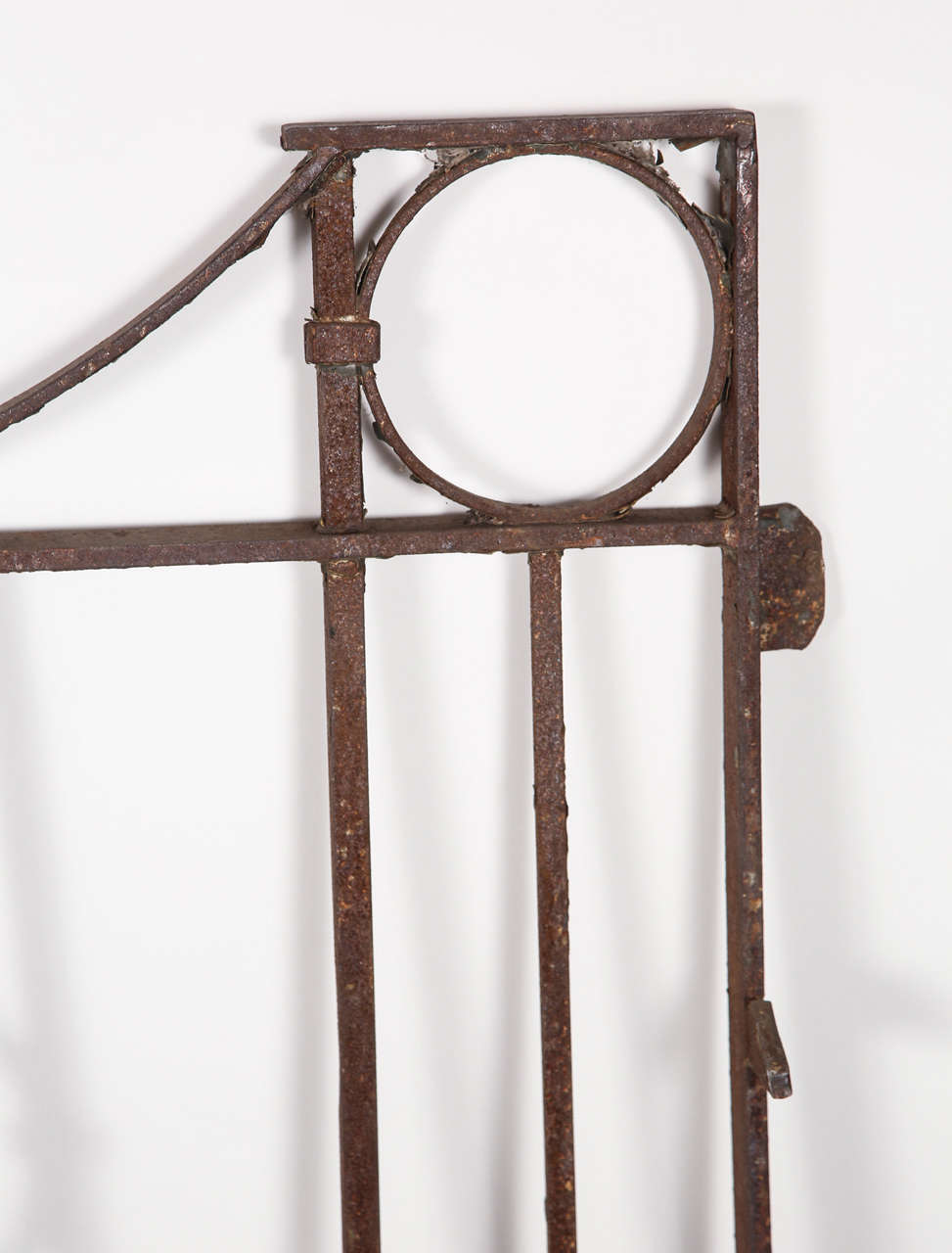 Pair Of Wrought Iron Heavy Stock Gates For Sale At 1stdibs