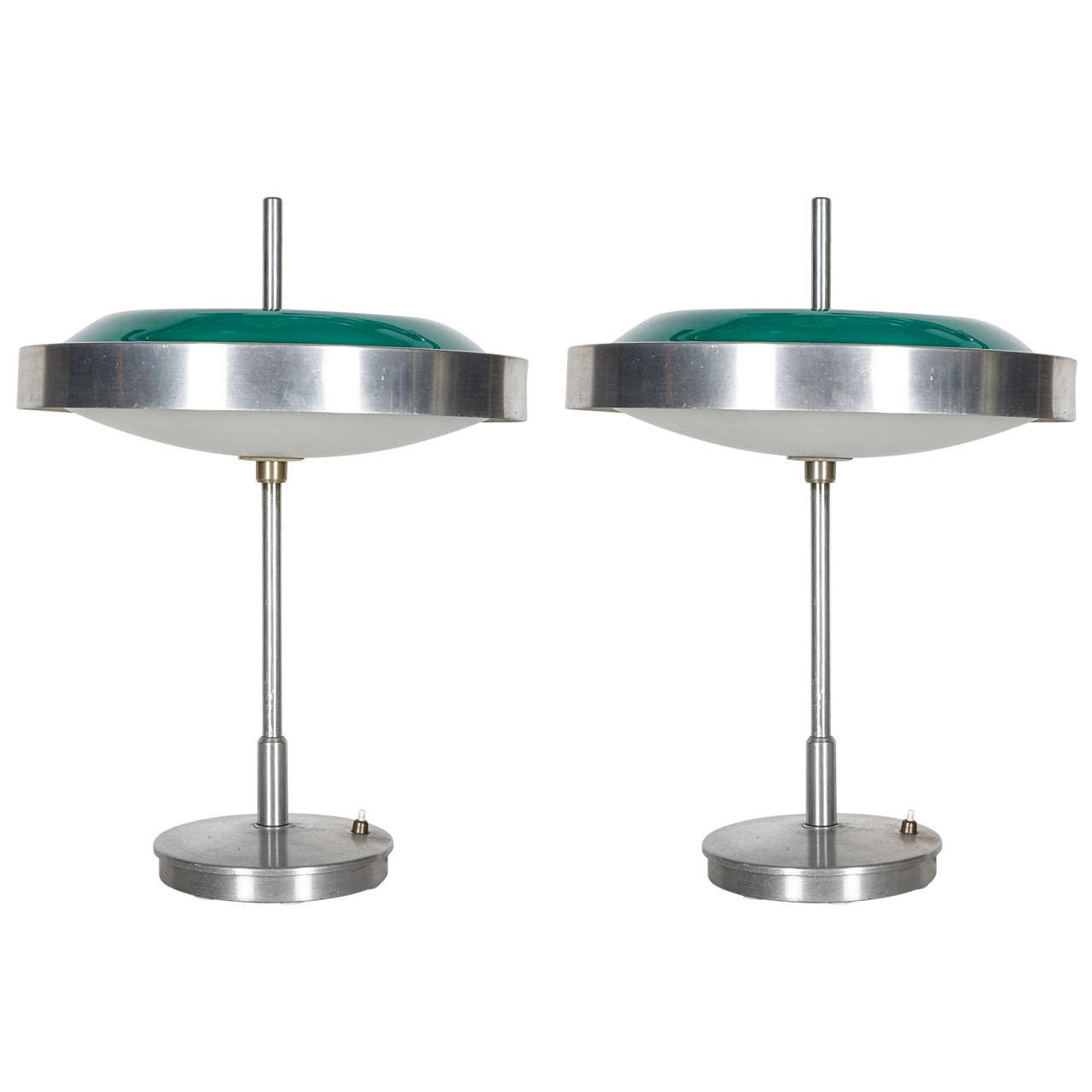 Pair of 1960s Italian Lamps