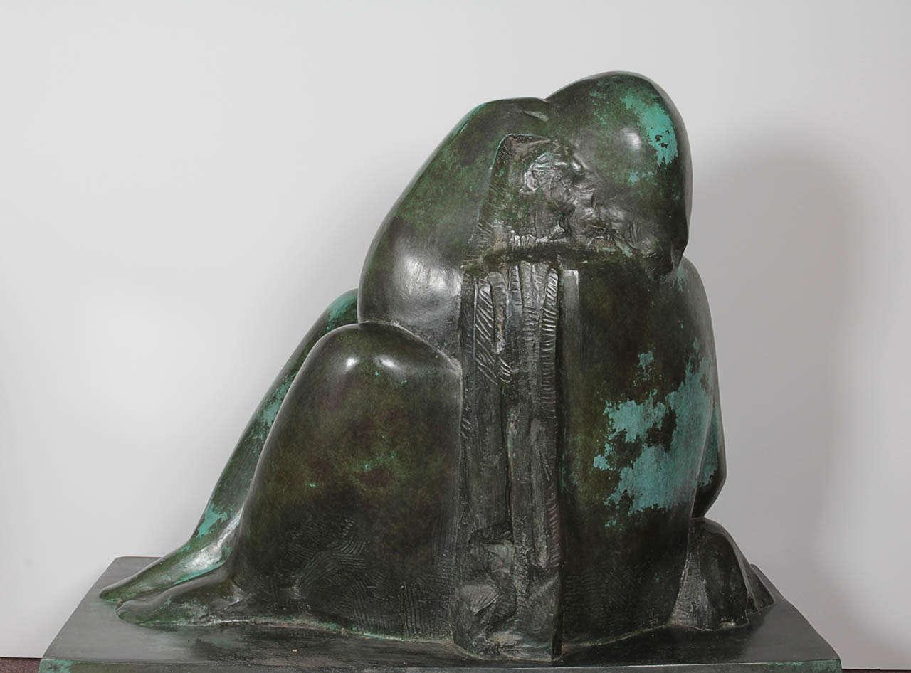 Monumental Original Bronze Sculpture