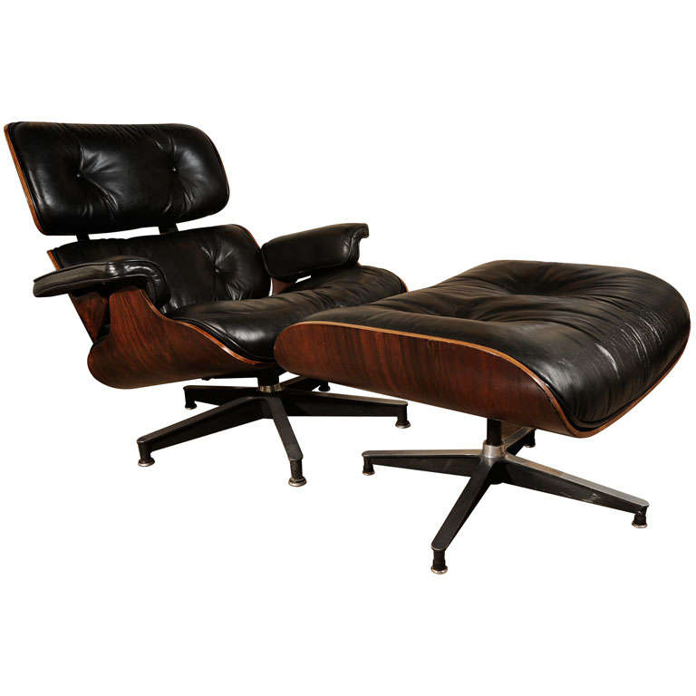 eames lounge chair and ottoman amazing first year production at