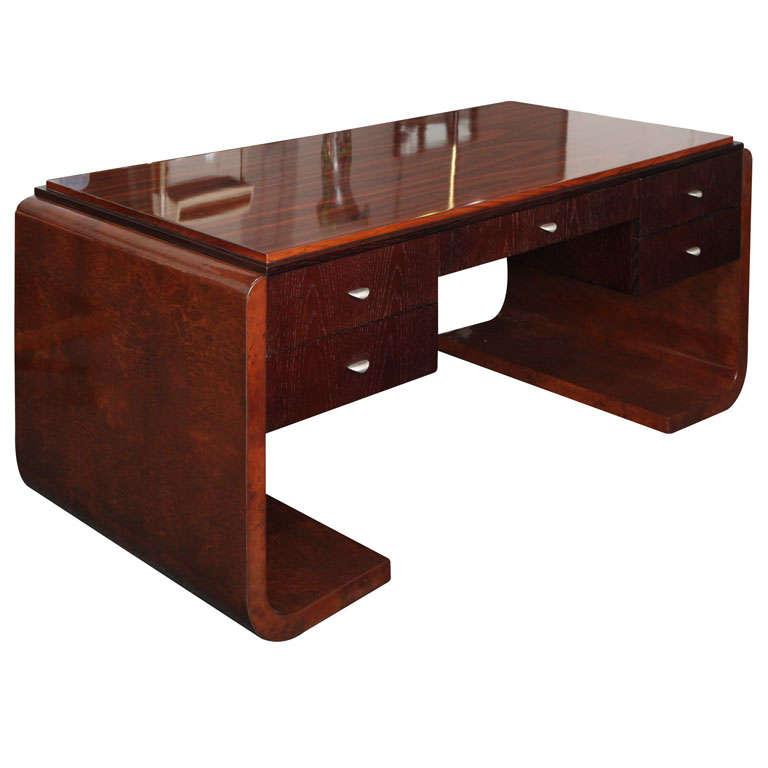 Modernist Desk Made In Milan At 1stdibs