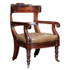 Exceptional,early 19th century, English armchair
