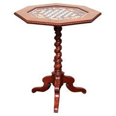 19th century Games Table