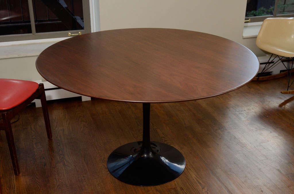 Eero Saarinen 48 Quot Tulip Dining Table With Walnut Top Mfg