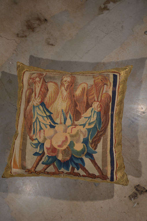 Beauvais Tapestry Pillow 2