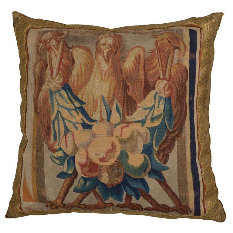 Beauvais Tapestry Pillow 1