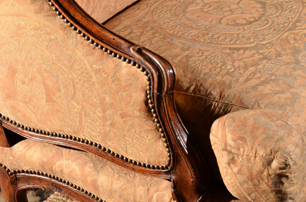Regence Canape in Vintage Fortuny 7