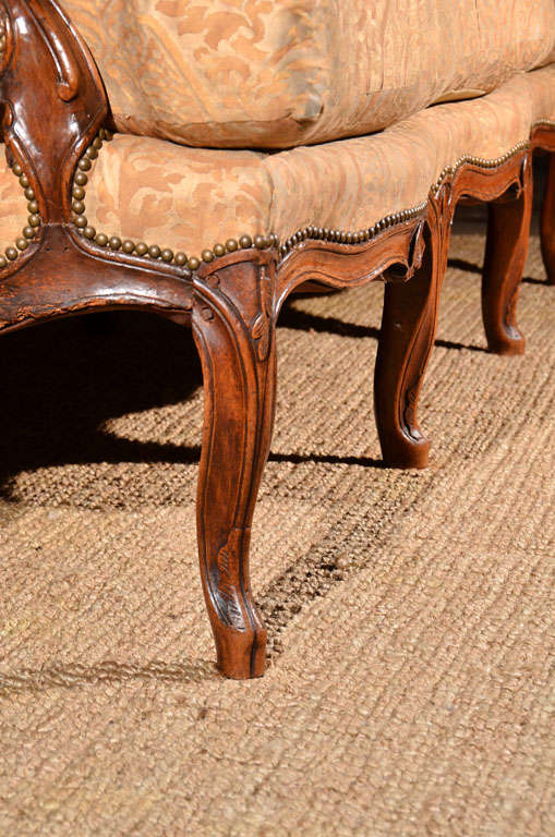 Regence Canape in Vintage Fortuny 8