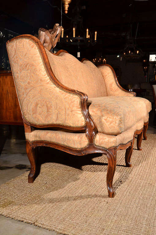 Regence Canape in Vintage Fortuny 9