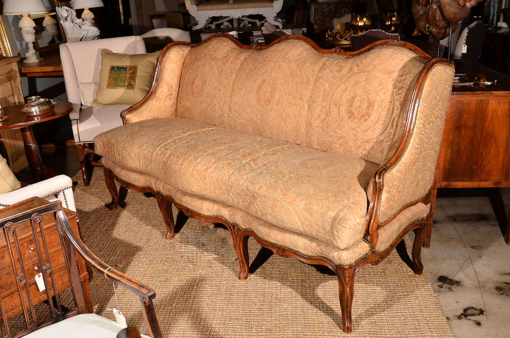 Regence Canape in Vintage Fortuny 2