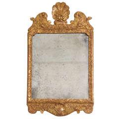 George I Giltwood Mirror, England, circa 1720